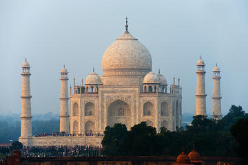 The Mughal Trail with Taj Mahal by...