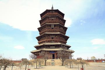 Datong Private Day Tour to Yungang Grottoes and Yingxian Wooden Pagoda including Shanxi Style Lunch