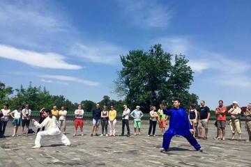 Full Day Culture Tour Tai Chi Class at Temple of Heaven Forbidden City Tiananmen Square