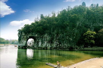 Guilin Bus Tour of Iconic Karst Mountains, Reed Flute Cave, Fubo Hill...