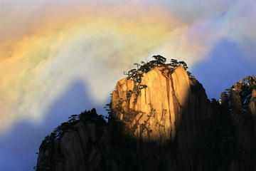 Huangshan Yellow Mountain at dawn