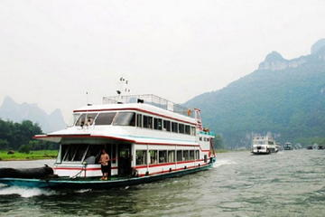 One-Day Li River Cruise with Bamboo Rafting in Yangshuo
