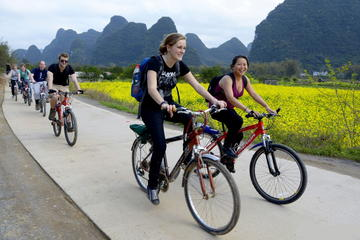 One-Day Li River Cruise With Biking Tour in Yangshou