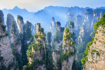 Private Tour to Tianzi Mountain and...