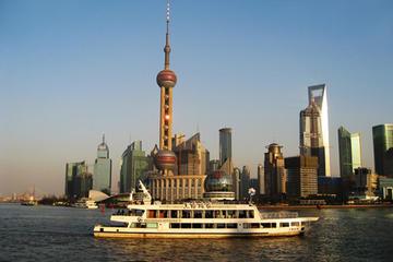 Shanghai Besichtigungstour in kleiner Gruppe, Bootstour und...