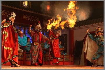 Sichuan Opera at Shufeng Yayun Teahouse in Chengdu