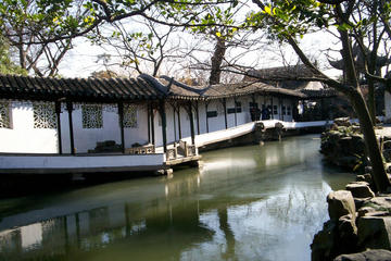 Suzhou Gardens, Pingjiang Road and Canal Boating From Shanghai