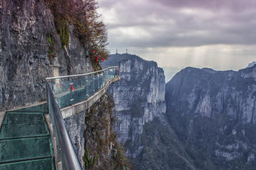 Tianmen Mountain and Glass Skywalk Tickets with Private Transfer from Zhangjiajie