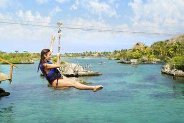 Excursión de un día a Xel-Há con todo incluido desde Playa del Carmen