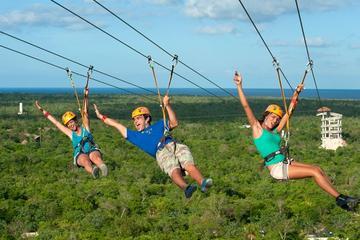 Parque de aventura Xplor desde Cancún