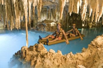Parque de aventura Xplor desde Playa del Carmen