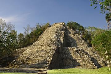 Traslado de ida y vuelta al hotel: Xel-Ha y ruinas de Coba en un día...