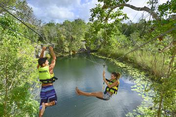 Xenotes: excursão de aventura nos cenotes maias