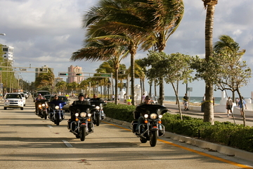 Location d'Harley-Davidson à Miami