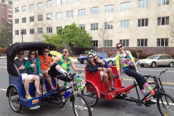 Excursão por pedicab no National Mall e museus de Washington DC