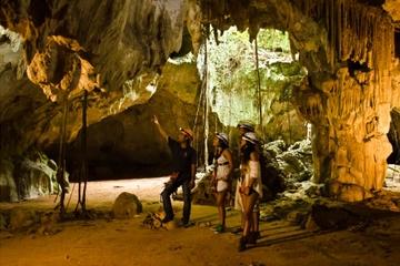 Aventura en una cueva de Scape Park, en Cap Cana, desde Punta Cana