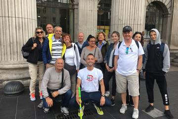 Walking tour of Dublin in italian
