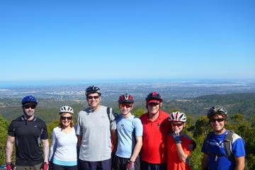 Excursão de descidas do Monte Lofty em bicicleta partindo de Adelaide