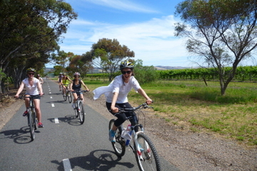 McLaren Vale Wine Tour mit dem Fahrrad