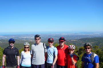 Tour en bicicleta de descenso por Mount Lofty desde Adelaida