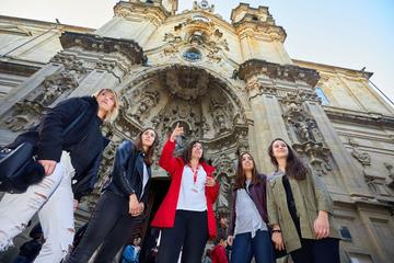 Royals, Stars, and Surfers San Sebastian Walking City Tour with a...
