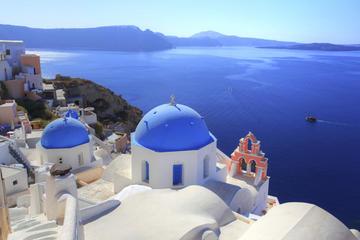 Private Tour: Santorini-Besichtigungstour mit Fotopause auf der Fira...