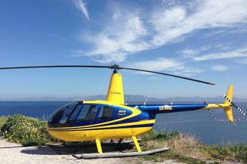 Round-Trip Helicopter Transfer Between Santorini and Greek Islands