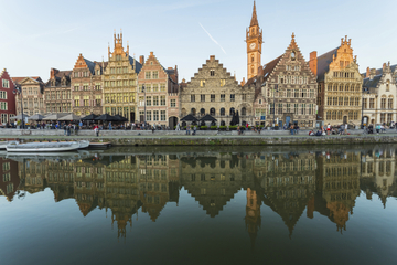 Excursão privada: Viagem de um dia a Ghent e Bruges saindo de Bruxelas