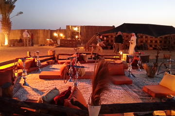 Desert Experience: Dinner and Emirati Activities with Vintage Land...