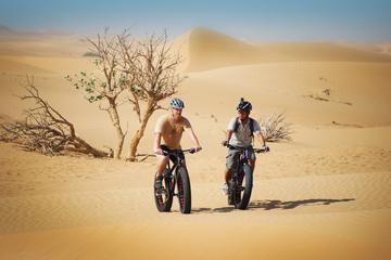 Giro in fatbike nel deserto di Dubai