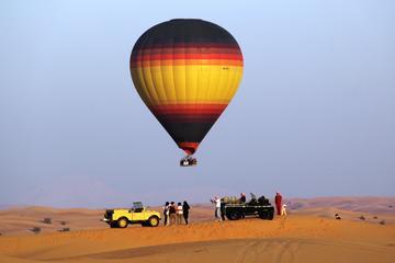 Montgolfière et safari petit déjeuner au départ de Dubaï