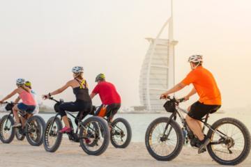 Morning Beach E-Fat Bike Cycle Tour
