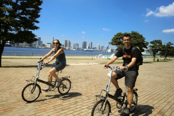 Tóquio de Bicicleta: Mercado Tsukiji e Odaiba, incluindo Cruzeiro na...