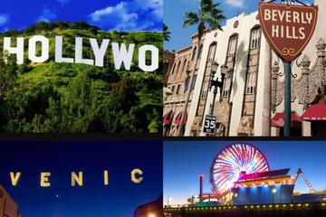 5 Hour tour of Hollywood-Beverly Hills-Beaches
