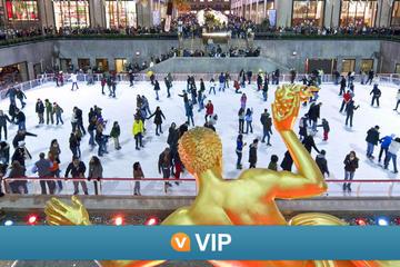 Viator VIP: Rockefeller Center Ice Skating Experience en Top of the ...