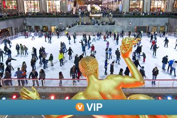 VIP da Viator: Experiência de patinação no gelo no Rockefeller Center...