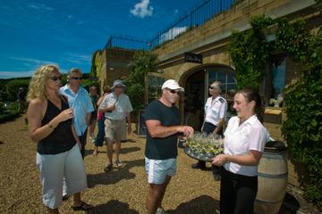 Tour de dégustation de vins sur l'île...