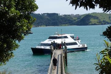 Passagem para a balsa de Coromandel saindo de Auckland