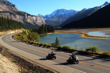 Tour por las Rocosas canadienses en Sidecar con chófer desde Jasper