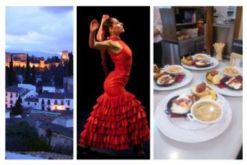 Albaicín & Sacromonte Guided Walking Tour with Flamenco & Tapas Dinner