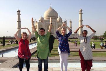 Taj Mahal Tour by Train - Enjoy Mughal Architecture