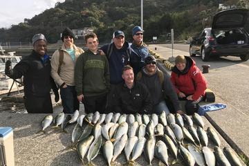 Pesca en agua salada en la prefectura...