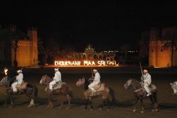 Cena e spettacolo marocchini al ristorante Fantasia di Marrakech