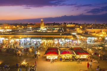 Visite privée d'une journée complète à Marrakech