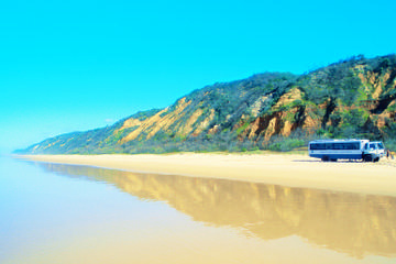 Fraser Island-Tour im Allradfahrzeug...
