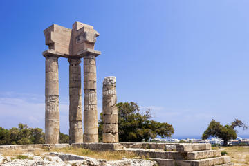 Excursion à terre à Rhodes: visite privée de Lindos