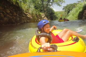 """Aventura de """"tubing"""" por las cuevas de Belice desde San Ignacio"""