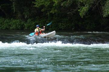 Kayaking at Mopan River From San...