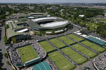 Wimbledon All England Tennis Club and Lawn Tennis Museum: tour dietro