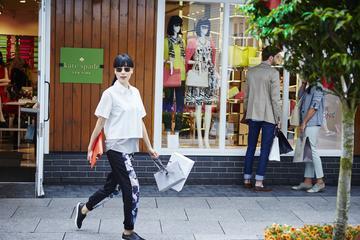 Dia de viagem para compras no Kildare Village Shopping de Dublin